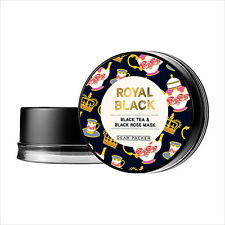 [DearPacker] Royal Black Tea & Black Rose Mask 50ml Korean cosmetic