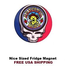 181 - Nice Grateful Dead Refrigerator Toolbox Motorcycle Magnet