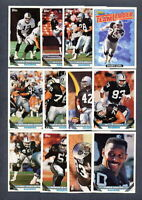 1993 Topps Oakland Raiders TEAM SET