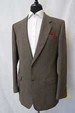 Men's Daks Tweed Jacket Blazer 38L CC5053