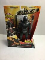 GI Joe Retaliation Snake Eyes 10 Inch Action Figure MIB Ninja Commando STILL NEW