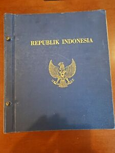 Indonesia Classics Stamp Collection in old Specialized Album, from an estate!
