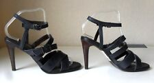 NEXT SIGNATURE STRAPPY LEATHER SANDALS SHOES Size 7 Eu 41 ~BNWL~ NAVY £48