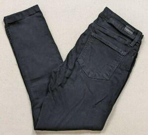 Paige Verdugo Ultra Skinny Black Denim Jeans Women's Size 30 Super Stretch