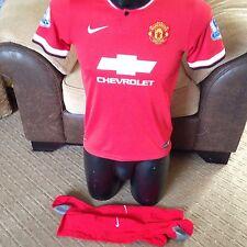 Van Persie 2014-15 Manchester United Football Shirt Top chicos grandes de 12-13 años