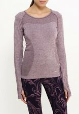 Nike Women's Dri-Fit Knit Running Top Long Sleeve Shirt sz Large (718582-533)