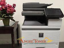 Sharp MX M754N Black & White MFP Copier Printer Scan Less 1500 Pages