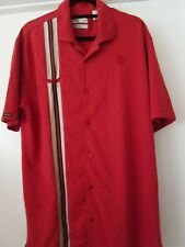 "Tehama ""Hang Em Dry"" Moisture Mgmt System Large Red Pima Cotton/Polyester"