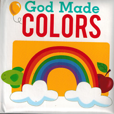 God Made - Board Book - NEW -  Colors -