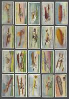 1915 Lambert & Butler Aviation Tobacco Cards Complete Set of 25
