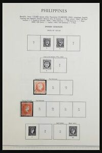 Lot 31598 Stamp collection Philippines 1859-2001.