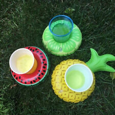 Water Coasters Floating Cup Holder Swimming Pool Fun Drink Float Cup Stand Rafts