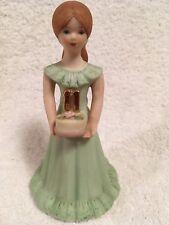 Enesco- Growing Up Girls -Birthday Doll-Brown Hair/Blue Eyes-Age 11