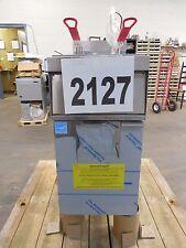2127-New - S&D Vulcan Free Standing Electric Fryer, Model: 1ER50A-3