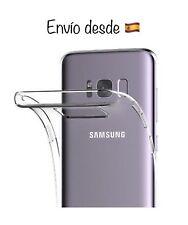 Funda Silicona Transparente Samsung Galaxy S8 Plus - Gel - Ultrafina - Silicone