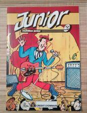 Brochure publicitaire Junior CL 85 Margerin Tardi Chaland Gotlib Gillon Charlier