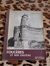 RENAULT Georges : Fougères et son château - Le Doaré, 1964