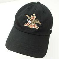 Anheuser Busch Cap Hat St Louis Brewery Beer Black Adjustable Adult Baseball