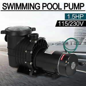 InGround Swimming Pool Pump Motor w/ Strainer Generic Hayward Replacemen 1.5HP