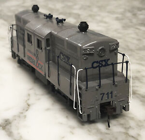Athearn HO Scale CSX Trainmaster Shorty Center Cab Kitbashed Diesel Locomotive