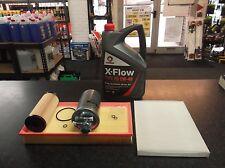 SEAT LEON MK1 1.9 TDI SERVICE KIT OIL FUEL AIR CABIN FILTERS ALH AGR XFLOW OIL