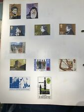 British GB EII Stamps 1970's 11 Stamps As Pictured