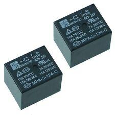 2x 24 V Mini Poder Relé SPDT 15 A