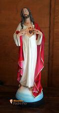 Statua Sacro Cuore di Gesù Mani al Petto 60cm