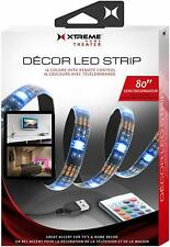 Xtreme Decor LED Strip Multi-Color Lights, 16 Colors with Remote Control