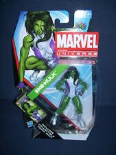 Marvel Universe She-Hulk  3 3/4 Action Figure #12 Series 4 NIB Hasbro