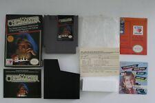 Chessmaster NES Game Box Instructions Inserts Nintendo