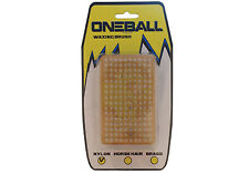 One Ball Jay Nylon Base Brush | Ski Snowboard Texturing Tuning Waxing Equipment