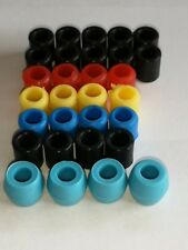Align Trex 450 landing skid nuts in packs of 4 in a range of colours.