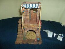 Fontanini Roman Lighted Village Inn Starter Set Heirloom Collection #54501
