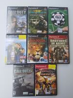 Lot of 7- playstation 2 games ps2 Must Have !!!