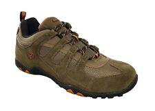 Mens Walking Hiking Trainers Hi Tec Quadra Classic Leather Size 7,8,9,10,11,12
