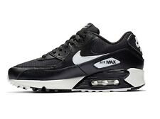 NIKE Womens AIR MAX 90 - Black / Summit White Trainers - uk 4 - eu 37.5 -