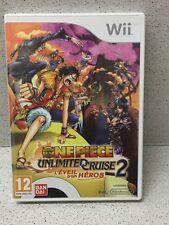 JEU Wii ONE PIECE UNLIMITED  CRUISE 2 AVEC NOTICE PAR NINTENDO