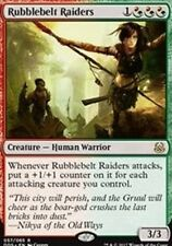 4X Rubblebelt Raiders NM Duel Decks: Mind vs. Might Gold Rare