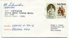 197? R/V Oregon Kodiak Alaska Bering Sea Marine Fisheries S Polar Cover SIGNED
