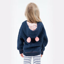BNWT BILLABONG KIDS GIRLS MOONLAND SOFT HOODIE WITH EARS SO CUTE (1) LAST ONE
