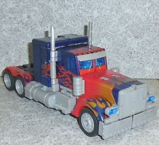 Transformers Movie OPTIMUS PRIME Leader Figure Missing Weapon