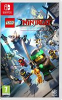 LEGO Ninjago Movie Game Videogame for Nintendo Switch BRAND NEW SEALED