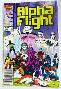 Marvel ALPHA FLIGHT (1986) #33 Newsstand 1st Lady Death Strike VG Ships FREE!