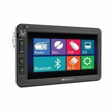 "Soundstream VR-732B 1 Din Motorized 7"" DVD/CD/MP3/SD Player Bluetooth Remote"