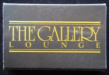 The Gallery Lounge The Plaza Tower 5 7901021 Matchbox (Mx27)