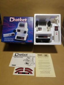 Tomy Chatbot Rare Vintage Robot Toy Brand New With Box In Excellent Condition