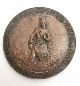 Médaille Sociétés Preparation Militaire France. Ref67301