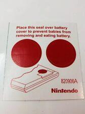 Game & Watch, Cover Batery, Game Watch Nintendo,Gakken,bandai,Casio,reprodution