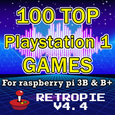 PlayStation 1 RetroPie Sd card 100 Actually good Ps1 games for Raspberry Pi